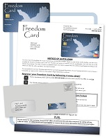 Freedom Flyer mailer example